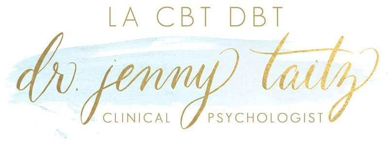 About | Dr. Jenny Taitz | Los Angeles Certified CBT DBT Therapist